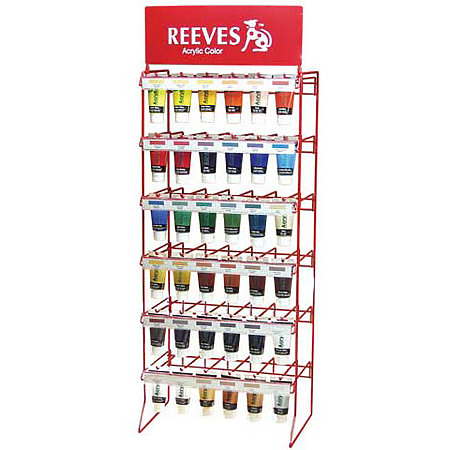 Reeves Acrylic Color 75ml Tube Assortment & Display