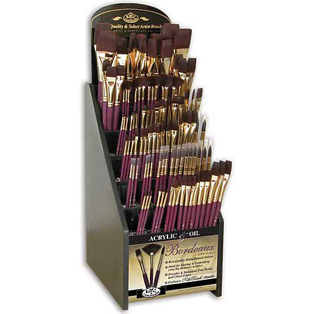 Bordeaux Brush Assortment Display
