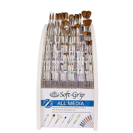 Soft-Grip Short Handle Brush Assortment Display 4
