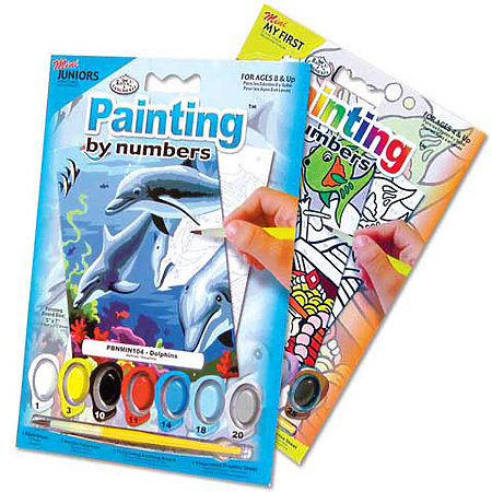 Mini Painting by Numbers Assortment Display