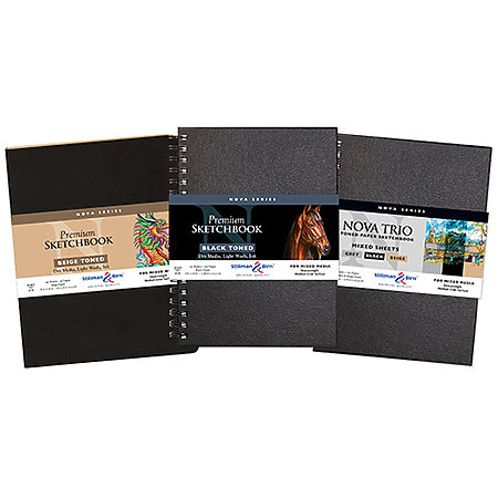 Nova Series Soft-Cover & Wire-Bound Sketchbook Assortment