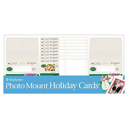 Photo Mount Holiday Cards Assortment Display