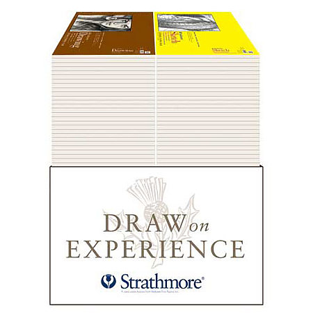 Sketch & Drawing Paper Stackout Assortment Display