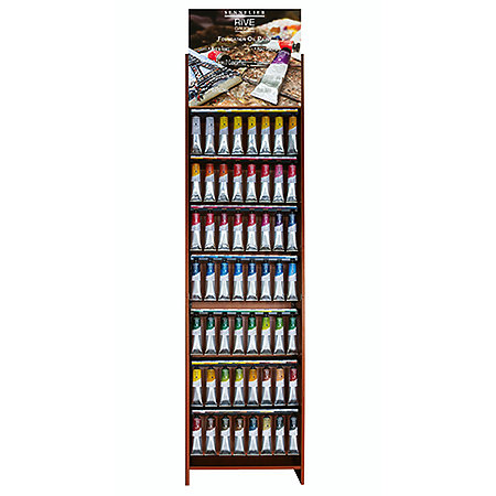 Rive Gauche Oil Paint 200ml Assortment Floor Display