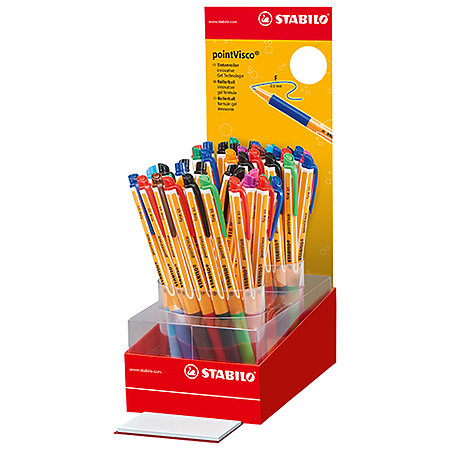 Point Visco 50-Pen Counter Assortment Display