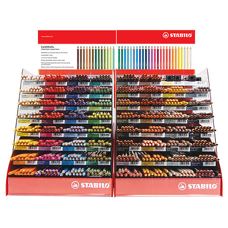 Carbothello 60-Color Assortment Display