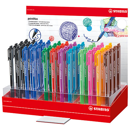 PointMax 48-Pen Counter Assortment Display