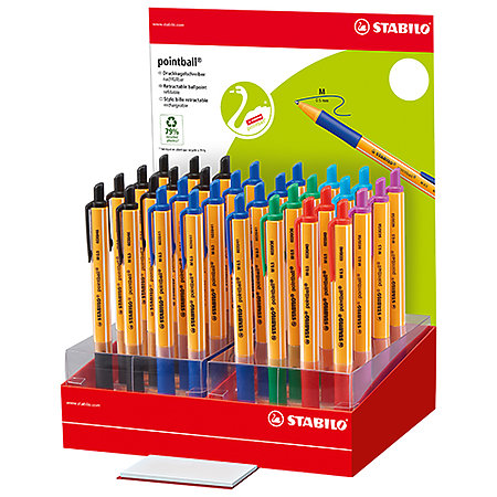 Pointball 32-Pen Counter Assortment Display