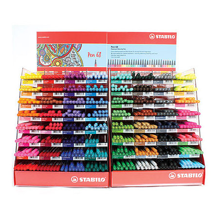 Pen 68 Marker 640-Pen Assortment Display