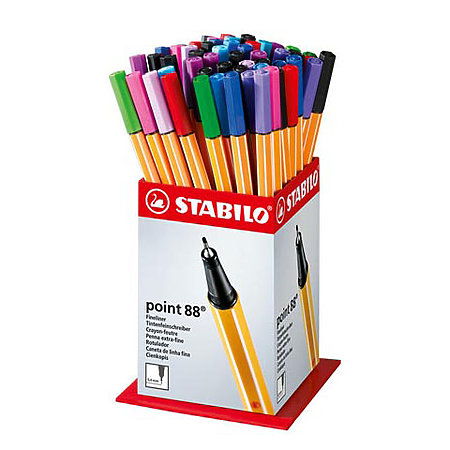 Point 88 60-Pen Assortment Display