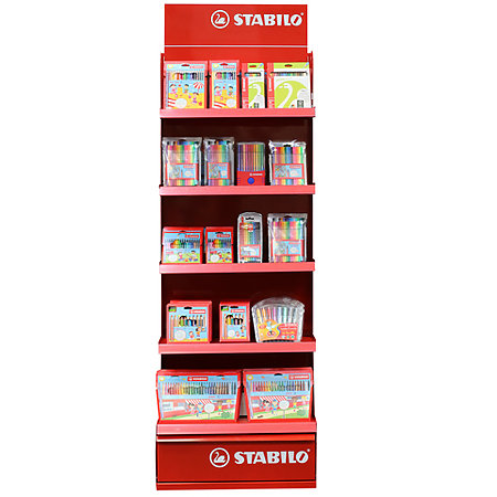 Stabilo Kids Creative Class Tower Assortment Display