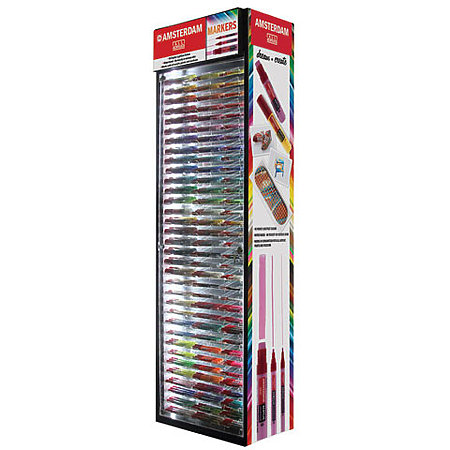 Amsterdam Acrylic Marker Assortment & Display