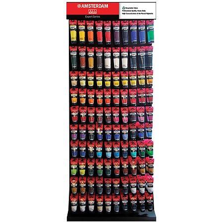 Amsterdam All Acrylic Expert Series 75ml & 150ml Assortment & Display