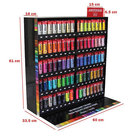Acrylic 20ml Full Assortment & Display