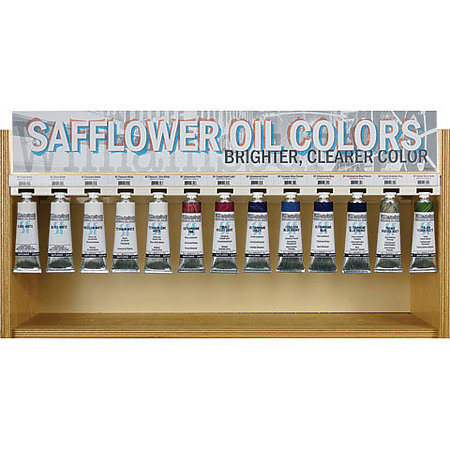 Williamsburg 37ml Safflower Oil Colors Assortment Display   13 Facings