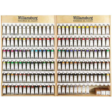 Williamsburg Handmade Oil Colors Assortment Display