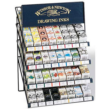 Drawing Ink Assortment & Display