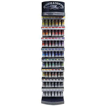 Winton Oil Color 49-Color 37ml Tube Assortment & Display