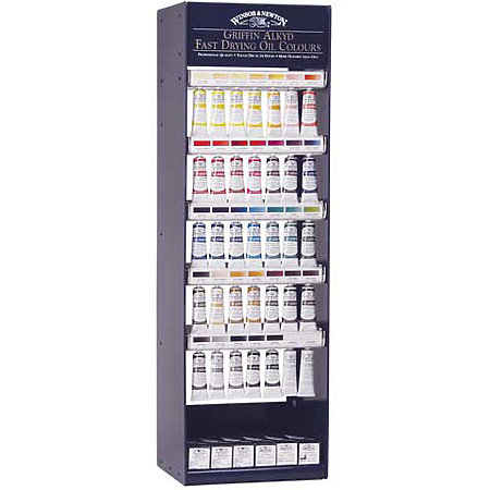 Griffin Alkyd Colours 37ml 114-Tube Assortment & Display