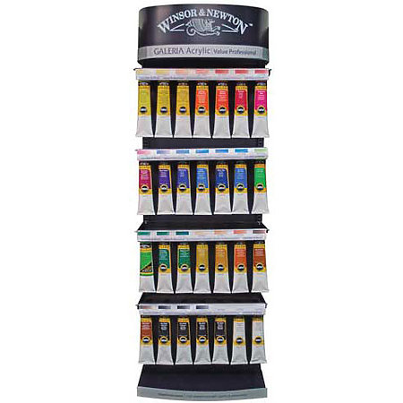Galeria Acrylic Colours 200ml Tube Assortment & Display