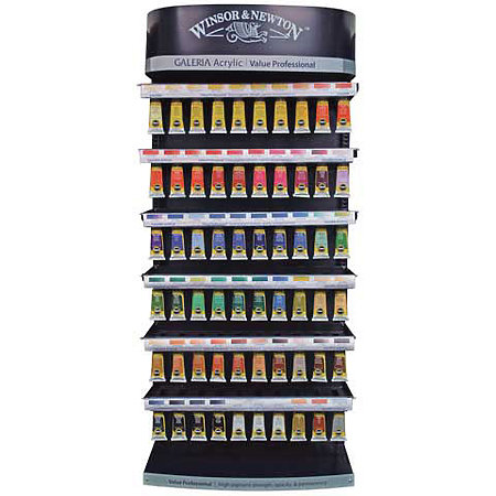Galeria Acrylic Colours 60ml Tube Assortment & Display