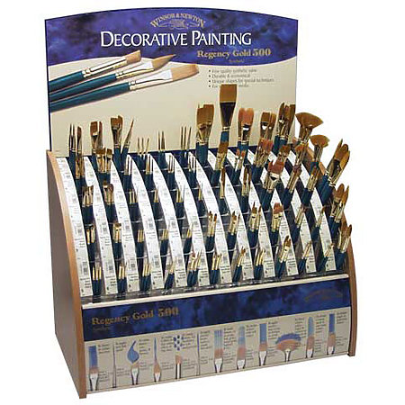 Regency Gold 500-Expanded Brush Assortment & Display