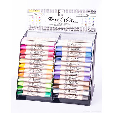 ZIG Memory System Brushables 144-Pen Assortment Display