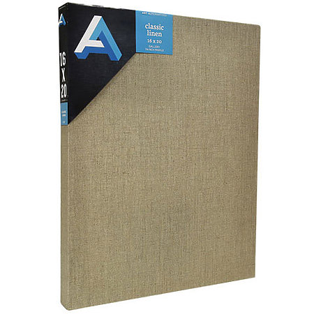Classic Linen Stretched Canvas