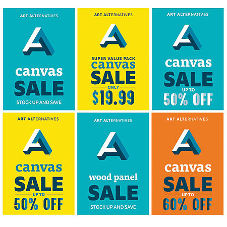 Canvas & Wood Panel Sale Posters