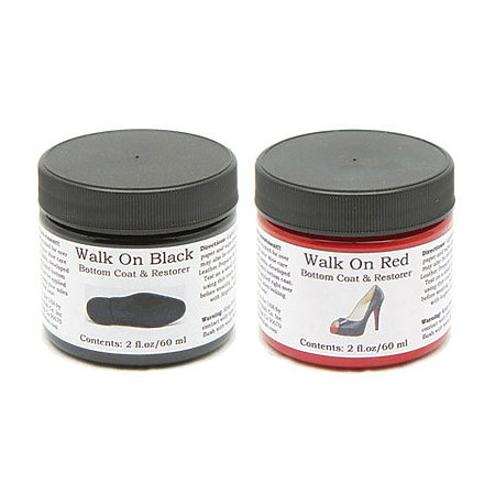 Walk on Black & Walk on Red Bottom Coat & Restorer