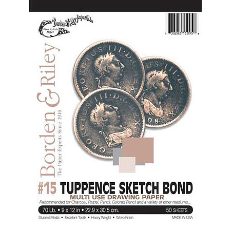 #15 Tuppence Sketch Bond Pads