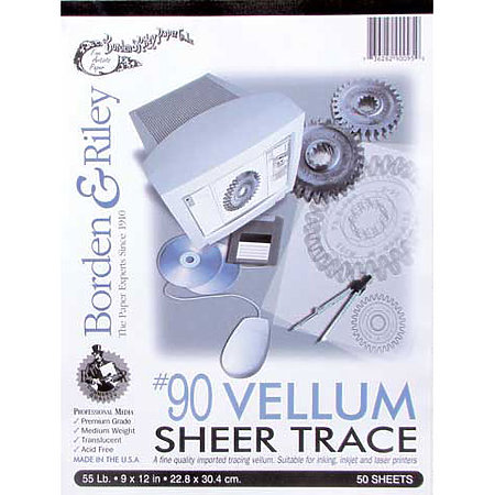 #90 Sheer Trace Vellum Pads