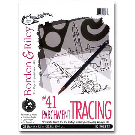 #41 Monroe Light-Weight Parchment Tracing Paper Pads