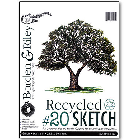 #20 Recycled Sketch Paper Pads