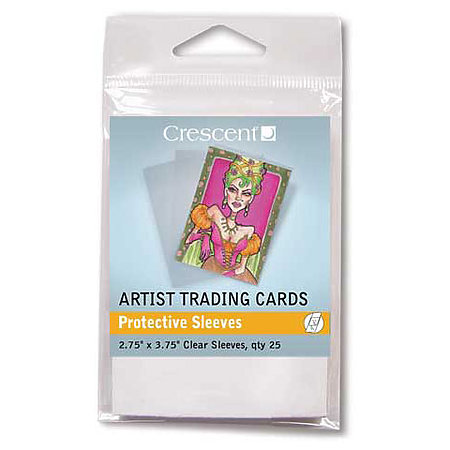 Artist Trading Card Clear Sleeves