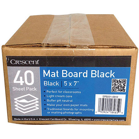 Mat Board Black School Packs