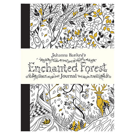 Coloring Book Chronicle Books LIST 1999 Enchanted Forest Journal
