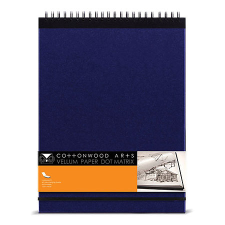 Vellum Paper Dot Matrix Sketchbooks
