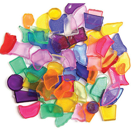 Plastic Mosaic Shapes