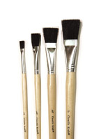Tempera 6-Brush Sets