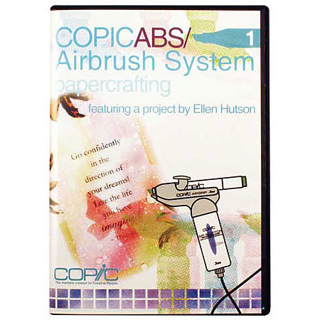 COPIC ABS 1 Airbrush System Papercrafting DVD