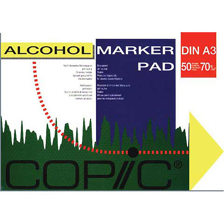 COPIC Alcohol Marker Pads