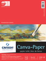 Foundation Series Canva-Paper Pads