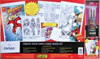 Fanboy Create Your Own Comic Book Kit