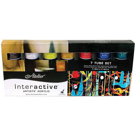 Atelier Interactive Artists  Acrylic   7-Color Set