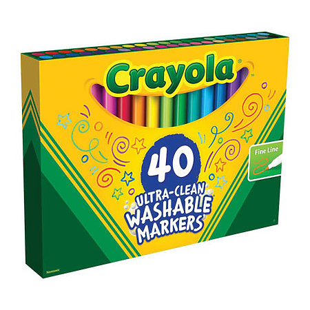 Ultra-Clean Washable Marker Sets