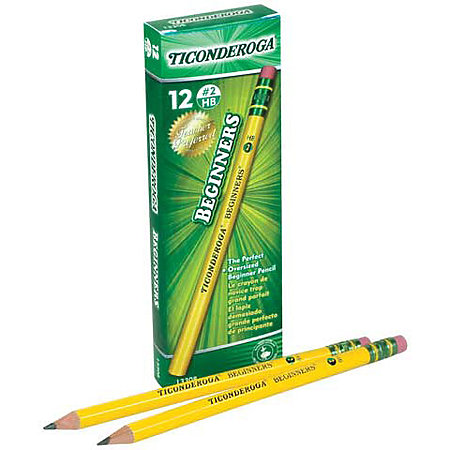 Ticonderoga Beginner Pencils