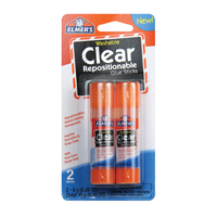 Repositionable Clear Glue Sticks