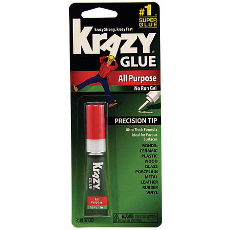 Instant Krazy Glue  All-Purpose Gel Formula