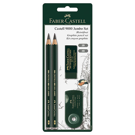 Castell 9000 Jumbo Graphite Pencils Sketch Set